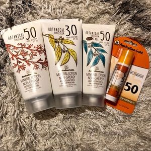Australian Gold Makeup - Australian Gold Botanical Sunscreen Package